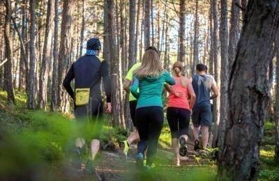 Fit-Walking mit Bergler-Erfrischung