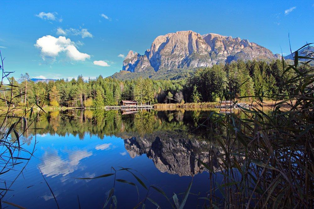Herbsturlaub in den Bergen in Völs am Schlern